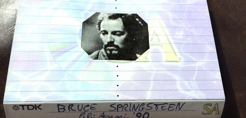Bruce Springsteen compilation 90s Inlay card